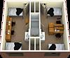 4 Bed 1 Bath Suite