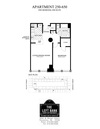 1 Bed/ 1 Bath - East City - 821 sq/ft