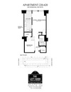 1 Bed/ 1 Bath/ Platform-Chestnut St - 781 sq/ft