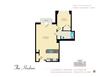 Hudson - 1 Bedroom, 1 Bath - 702 sq ft (1.1H-12)